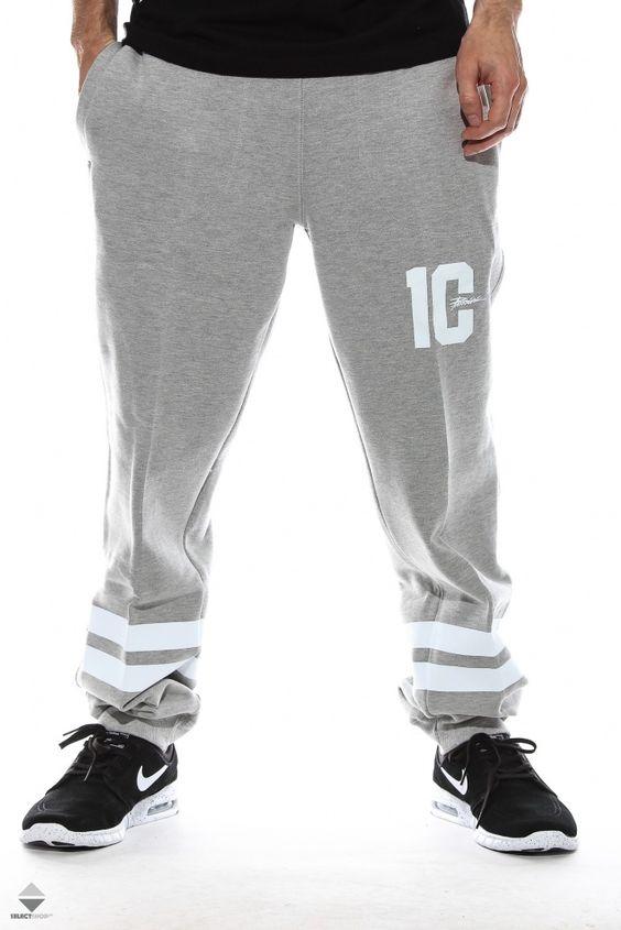 Spodnie Patriotic Future 10 Grey Street Wear Mens Outfits Clothes