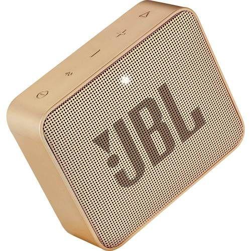 Jbl Go 2 Portable Bluetooth Speaker Gold In 2020 Wireless Speakers Bluetooth Speakers Wireless Speaker System