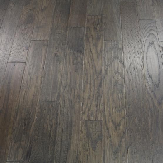 Hickory Grey Smoke 3 8 X 5 Hand Scraped Engineered Hardwood Flooring Weshipfloors Types Of Wood Flooring Hardwood Flooring