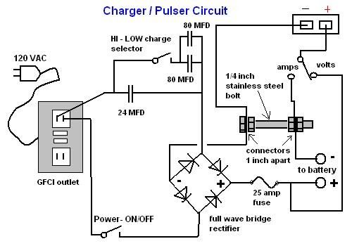 With Amp And Volt Readout By Richard Lewis Today I Ll Be Showing You How To Make An Updated Model Of My Charger Battery Charger Circuit Isolation Transformer