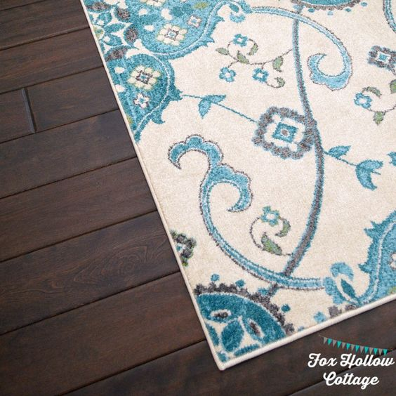 Florida Gray Turquoise Area Rug: Pinterest • The World's Catalog Of Ideas