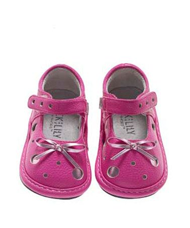 Take a look at this Pink Polka Dot Shoes - Infant & Toddler by Jack and Lily on #zulily today!