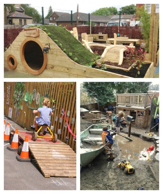 Inspiring Outdoor Play Spaces | Awesome, Play spaces and ...
