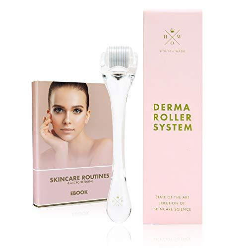 Use One Time A Week With Your Preferred Face Serum Amazing For Your Skin I Swear By This Microneed Derma Roller Derma Roller System Microneedle Derma Roller