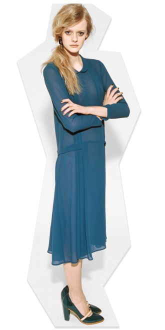 This Carin Wester dress gets you halfway to a Daisy Buchanan get-up.
