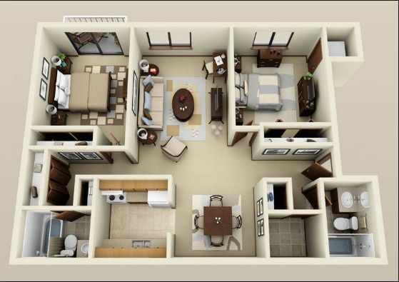 2 Bedroom Apartments For Rent 3 Bedroom Houses For Rent By Owner Condo Floor Plans Floor Plan Design Modern Living Room Interior