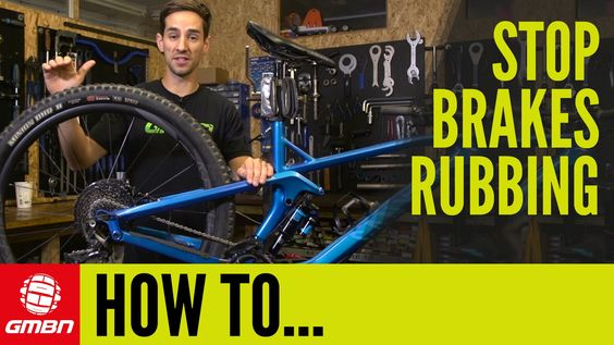 How To Stop Your Brakes Rubbing Mountain Bike Maintenance Video