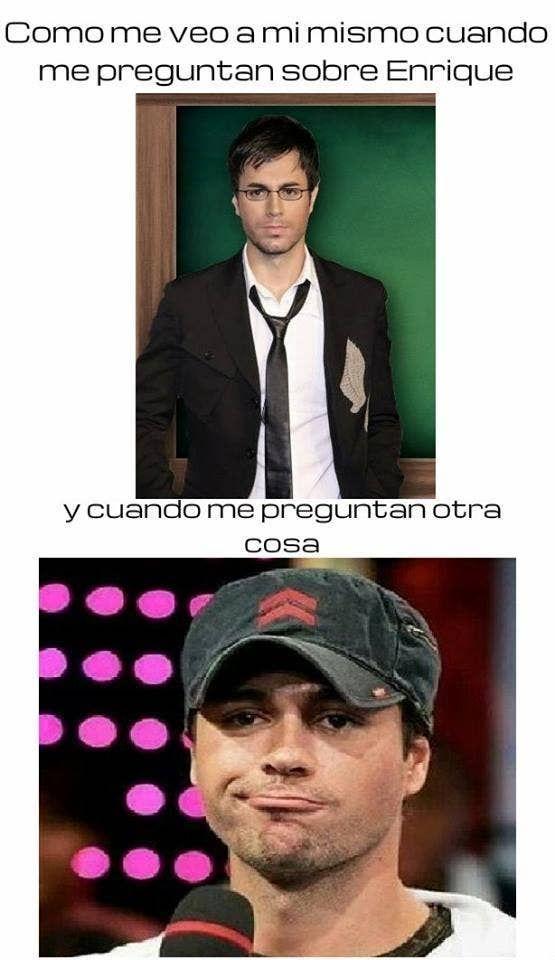 15 Memes De Enrique Iglesias Que Solo Sus Fans Entenderán Enrique Iglesias Celebrity Weddings Celebrities