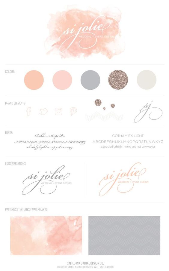 Si Jolie   Business Branding & Graphic Design by Salted Ink