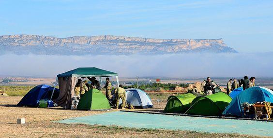 zona de campamento...