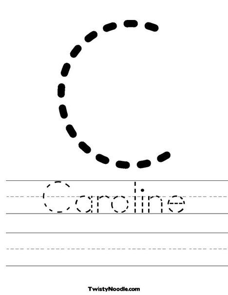 Make Your Own Traceable Worksheet : Create your own customized tracing sheets at twistynoodle