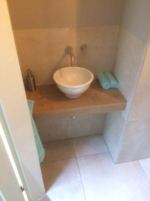 Nieuw Afbeeldingsresultaat voor houten plank wastafel | Modern toilet KO-24