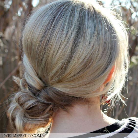 Chignon de c t id e coiffure pinterest photos - Chignon de cote ...