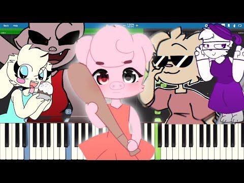 Piggy Memes On Piano Part 4 Youtube Piggy Piano Parts Memes