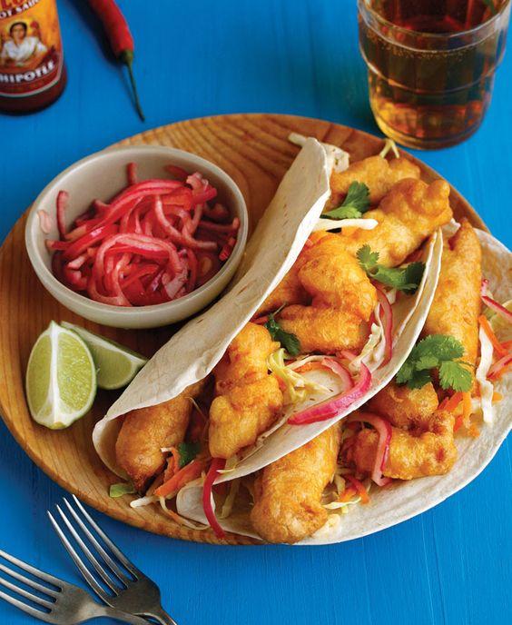 Huevos rancheros and my mexican roundup for cinco de mayo for Fish taco batter recipe