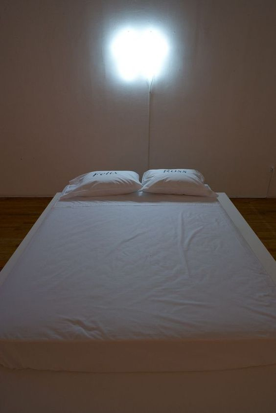 bed art installation - Google Search