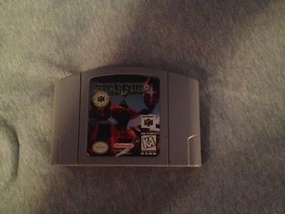 Star Fox 64 Nintendo 64 1997 Tested and Working Great STARFOX64   eBay