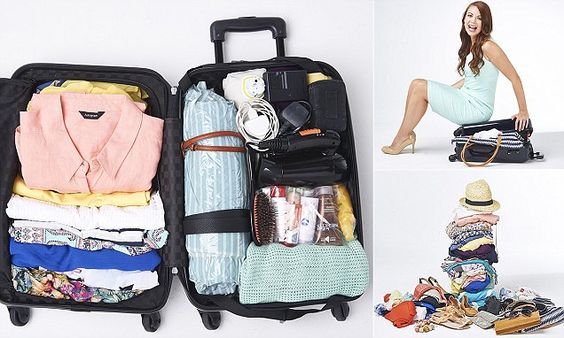 Packing expert Julia Hudson, author of The Epic Adventurer travel guide, has come up with an innovative series of steps to do away with packing stress for good, writes SARAH RAINEY.