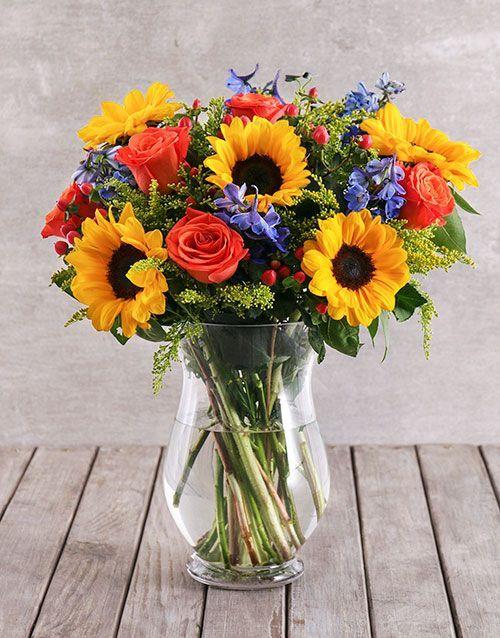 Pin By Martha De Graven On Sheila In 2020 Sunflower Arrangements Fake Flower Arrangements Flower Arrangements Diy