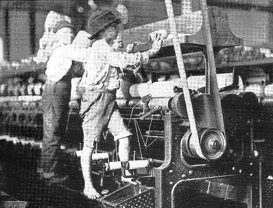 child labor in the 1800s Child labor was an important byproduct of industrialization physical labor might require an adult, but the operation of a machine could often by assigned to a child.