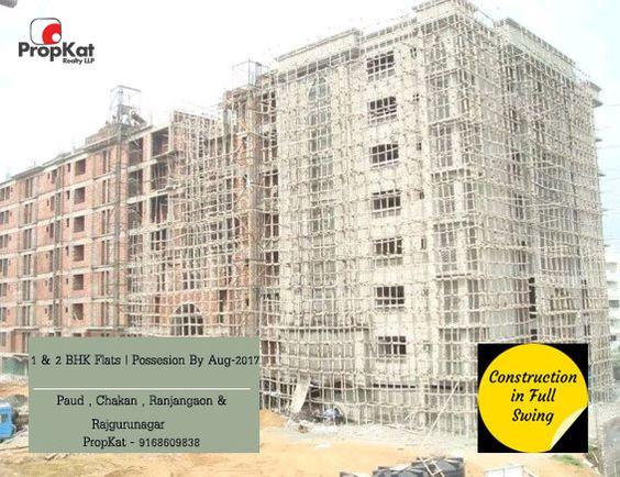 1 & 2 BHK Flats | Possession by Aug-2017  @ #Paud , #Chakan , #Rajgurunagar & #Ranjangaon  #PropKat-9168609838 #1BHK #2BHK #Pune #FlatsInPune #PropertyInPune