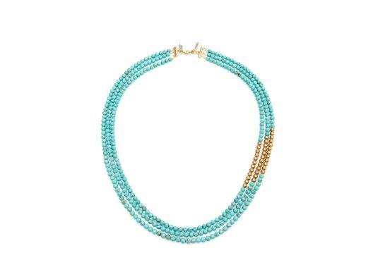 K. Amato Triple Strand Necklace from Shopafrolic - Liz Lange & Jane Wagman on OpenSky
