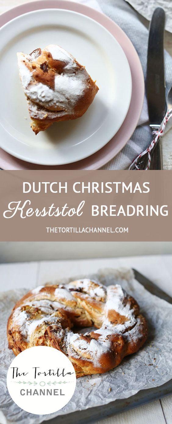 Dutch Christmas Kerststol Bread Ring Recipe Best Bread Recipe