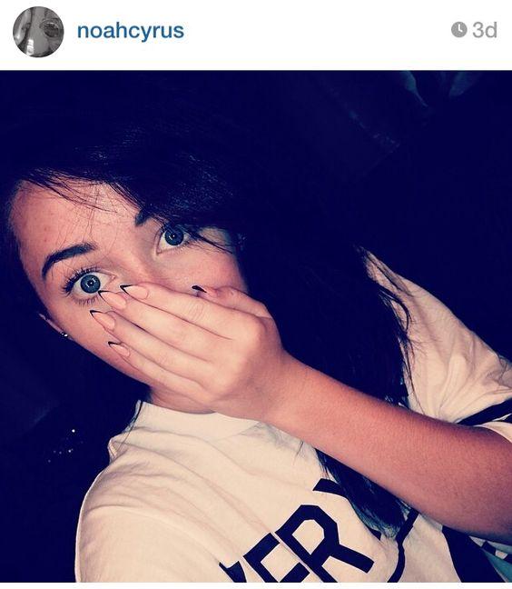 Noah Cyrus nails via Instagram