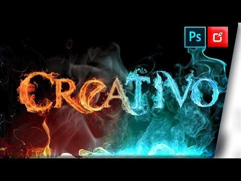 Letras De Fuego Png En Photoshop Psd Photoshop Cc 2018 Tutorial Youtube Png Text Photoshop Text Art