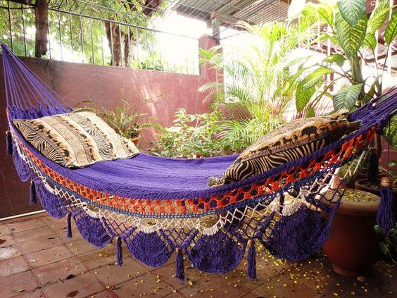 Comfy hammock - I want!