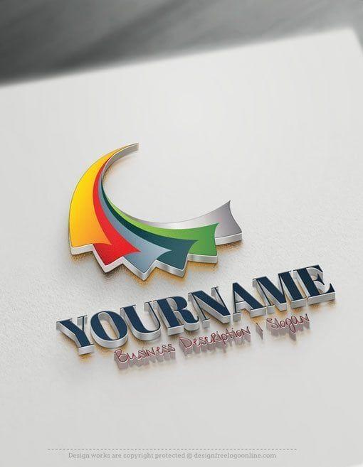 3d Art Logo Maker Design 3d Abstract Logo Ideas Instantly Logo Design Free Abstract Logo Logo Design Free Templates