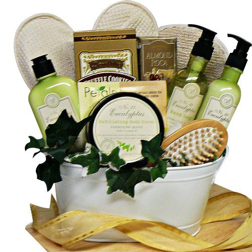 Art of Appreciation Gift Baskets   Peace and Relaxation Eucalyptus Spa Bath and Body Set - http://mygourmetgifts.com/art-of-appreciation-gift-baskets-peace-and-relaxation-eucalyptus-spa-bath-and-body-set/