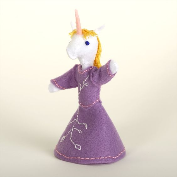 Sweet princess unicorn doll for baby girl