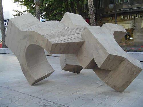 Lugar de Encuentros IV- Eduardo Chillida - 1975