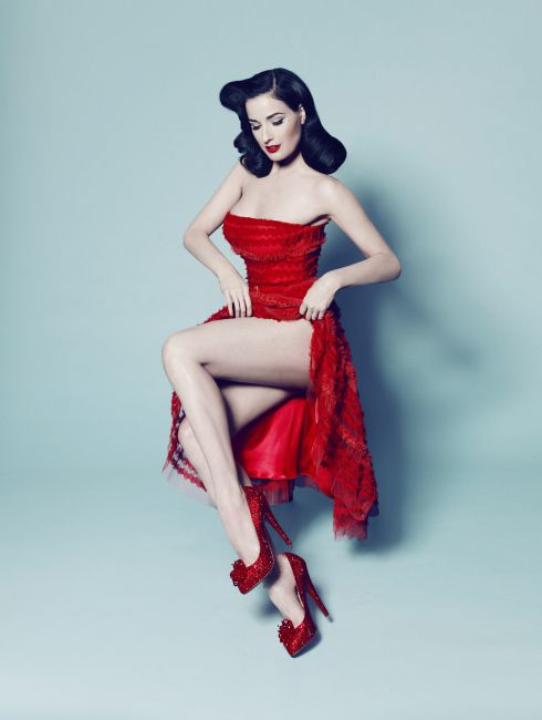 Ruby slippers| Pinup Girl  http://thepinuppodcast.com features pinup models and pin up photographers.