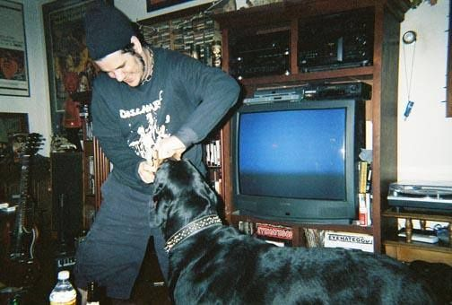 Philip Anselmo's Dog- Rottweiler (Dracula Anselmo)... Passed away in '09... R.I.P. https://www.facebook.com/notes/philip-h-anselmo-fans/philip-anselmos-dog-dracula/935627469797625