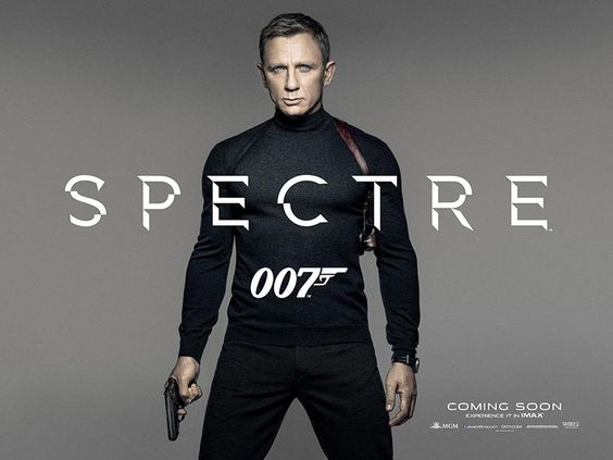 Daniel Craig Rocks the Classic Spy Look in These New Posters for 'Spectre'