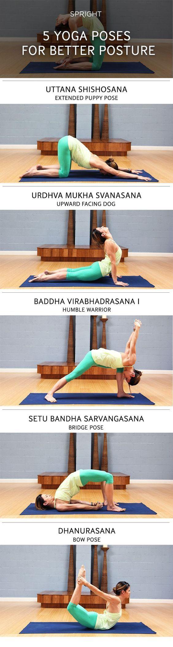 44++ Yoga poses to improve posture inspirations