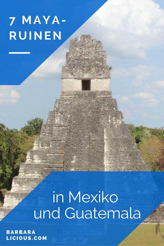 Ich habe den gesamten April und Mai in Mexiko, Belize und Guatemala verbracht. Dabei wollte ich mir die Maya-Ruinen natürlich nicht entgehen lassen und habe einige gesehen. Die Reihenfolge hier ist chronologisch. Ein Ranking zu machen, fällt mir unheimlich schwer, weil ich alle auf ihre eigene Weise ganz besonders fand.