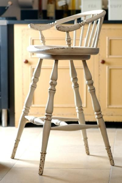 Bar Stool With Swivel Seat From Chalon Kitchen