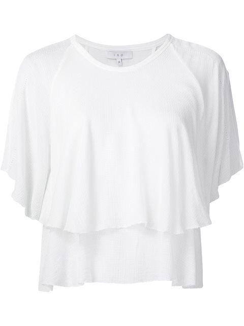 IRO layered blouse. #iro #cloth #blouse
