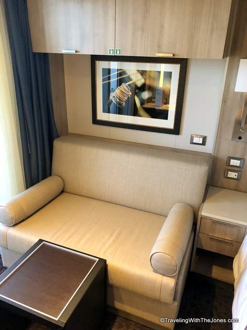 sleeper sofa, stateroom #4079, Nieuw Statendam | Sleeper sofa ...