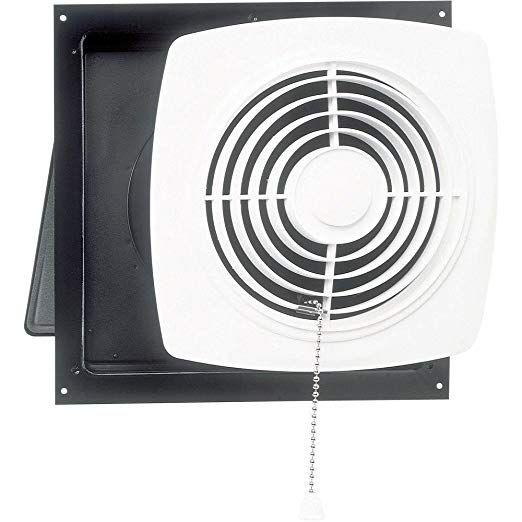 Broan 506 Chain Operated Utility Fan 10 Inch 470 Cfm 8 0 Sones Bathroom Exhaust Fan Broan Bathroom Fan