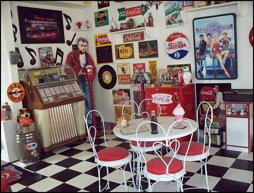50 Decorating Ideas 50s Bedroom Ideas 50s Theme Decor 1950s Retro Decorating Style Retrohomedecor Retro Bedrooms Diner Decor Vintage Retro Bedrooms