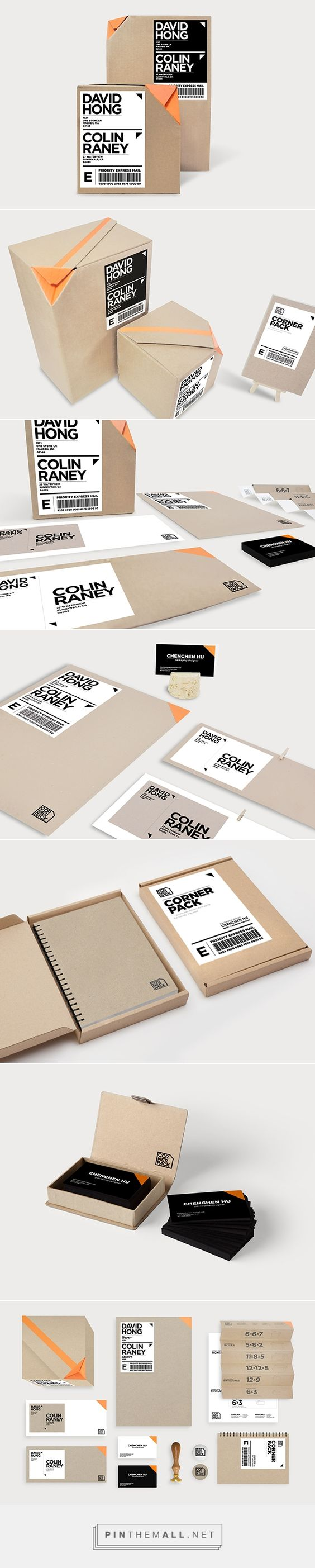 Corner Pack packaging system for the visually impaired by Chencen Hu. Please…