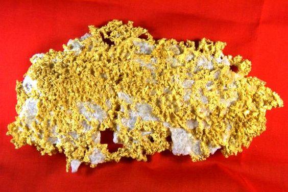 Museum Grade 22.43 Ounce Gold in Quartz - New Mine in California