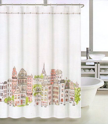 fabric shower curtains taupe shower curtains curtains orange showers ...