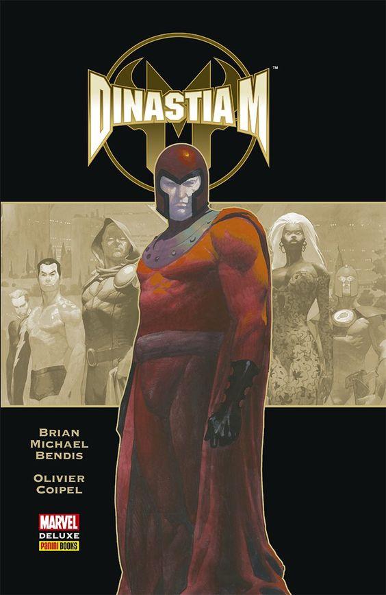 Dinastia M - Marvel Deluxe - MonsterBrain