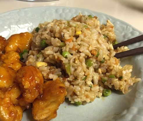 This Chinese fried rice has the flavor those other recipes are missing. Tastes like takeout. I want to dedicate this dish to Bergy, whose recipe AM And Bs Indonesian Mehoon has inspired this dish. Make sure you season your rice with salt before it cooks. Add some butter to the cooking water, as well. Other seasonings should be added before you cook, as well, so it has time to get inside the rice. If you like sesame flavor, add 1 tsp. of it after you add the green onions, but do not use it as…