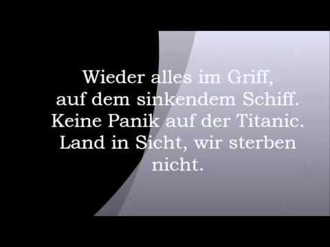 Jurgen Drews Wieder Alles Im Griff Titanic Schiff Panik